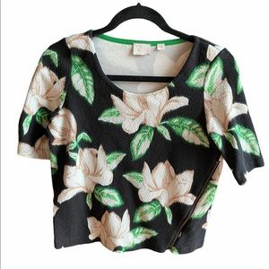 Anthropologie Floral Top